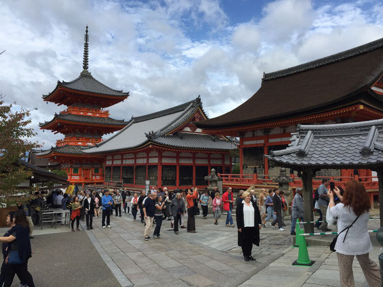 Family Friendly Walks in Kyoto, Japan - Kiyomizu-dera Temple