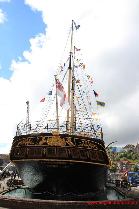 Sehenswürdigkeiten und Reisetipps für Bristol, England: SS Great Britain von Brunel