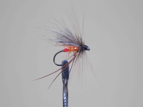 The hot orange hopper. A great fly fly for a bad fishing day!!