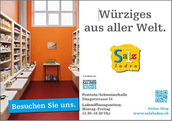 Salzladen Schweizer Salinen