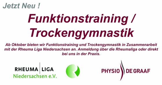 Wir bieten an: Trockengymnastik für die Rheuma-Liga Niedersachsen