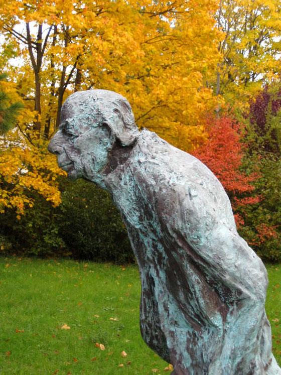 Darmstadt, Park Rosenhöhe. Karl Krolow von Prof. Thomas Duttenhöfer