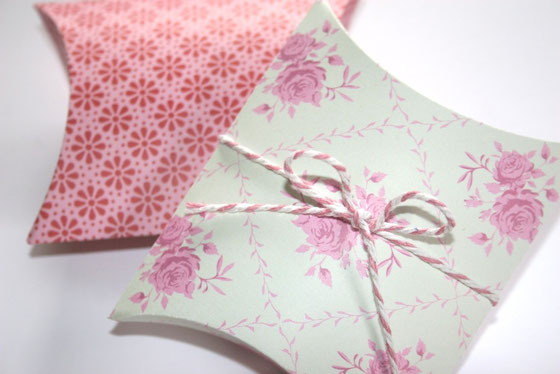 Geschenkböxli aus Tilda-Papier