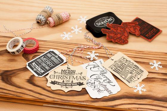 Stanzer und Stempel Weihnachten