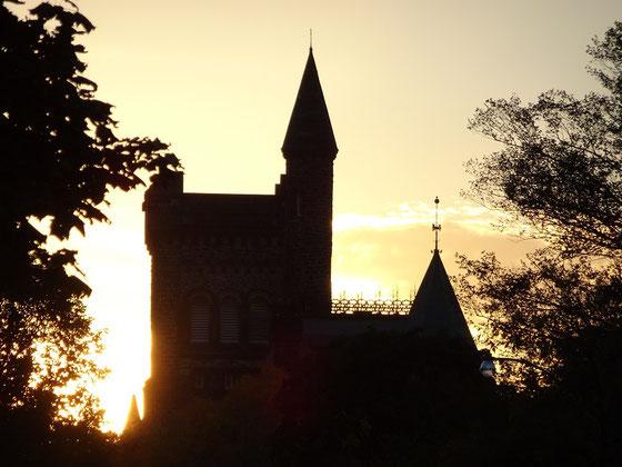 Herbst in Toronto: Abendstimmung an der University of Toronto.