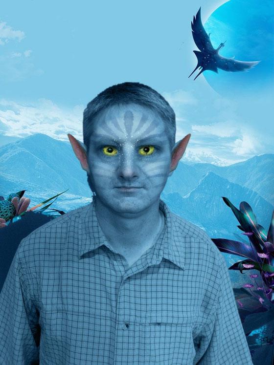 Ich habe auf der FanExpo 2015 mal den Avatar-Look ausprobiert.