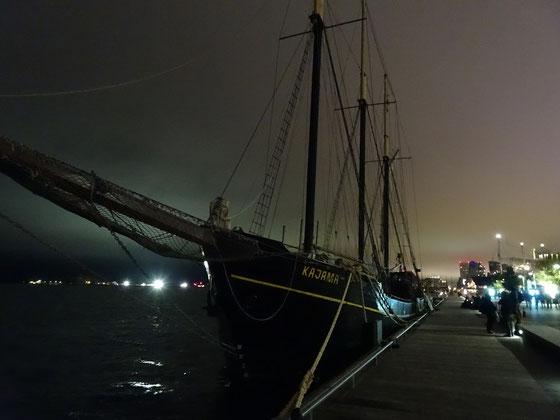 Nuit Blanche 2016 in Toronto: Nächtlicher Spaziergang an der Harbourfront.