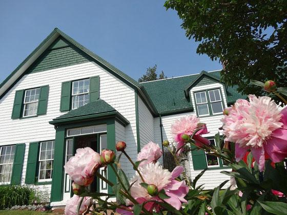 Das Green Gables Farm Haus in Cavendish, Prince Edward Island. Hier spielt die beliebte Geschichte von Anne.