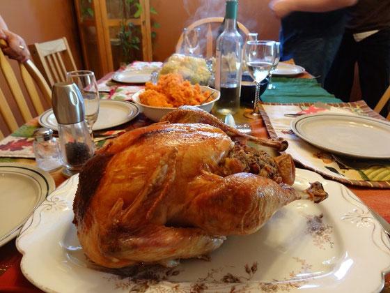 Thanksgiving in Kanada: Truthahn und Familie gehören zusammen.