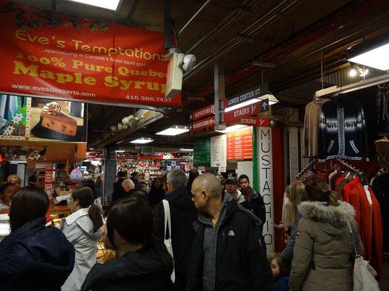 Kulinarische Reise durch Kanada auf dem St. Lawrence Market in Toronto