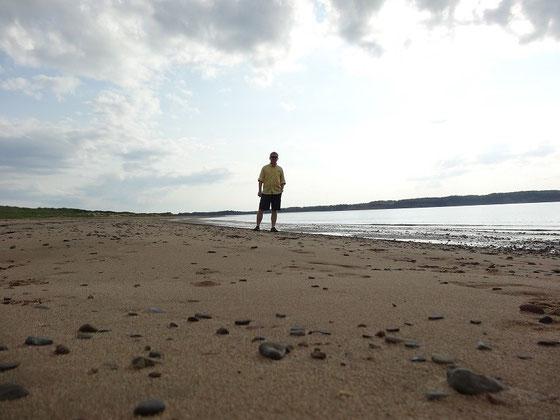 Abendstimmung am Strand von Port Hood in Nova Scotia: Toller Moment während meiner Tour durch Nova Scotia.