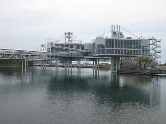 Besuch am Ontario Place: Blick auf die futuristische Konstruktion am Lake Ontario.