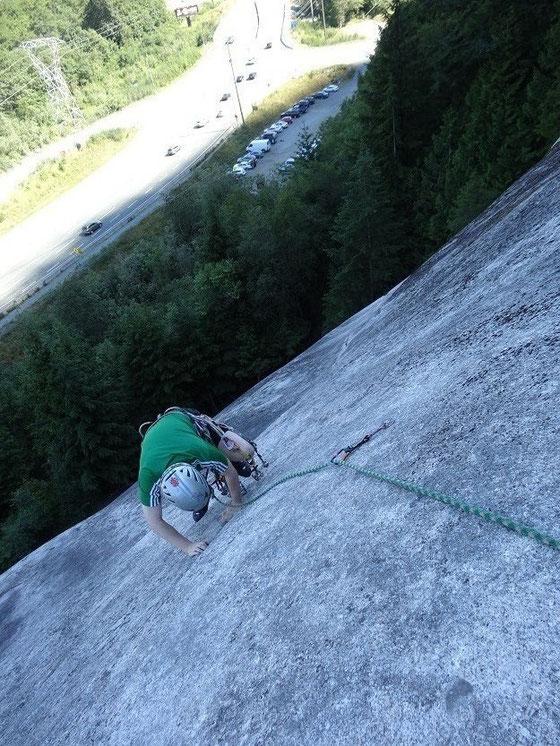 Rock climbing in Kanada: Mein erste Bekanntschaft mit dem Chief