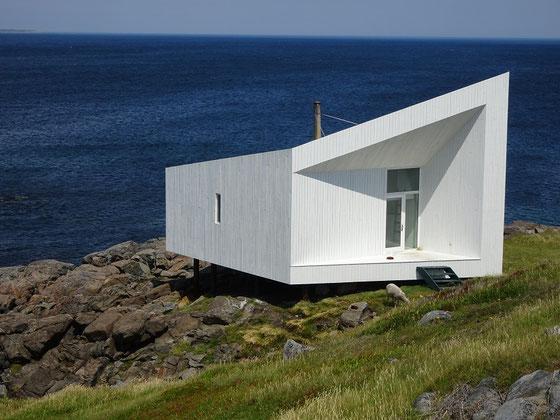Architektur auf Fogo Island: Das Studio in der Nähe von Tilting.
