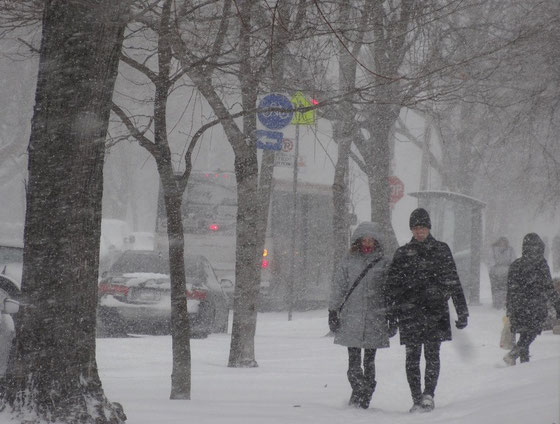 Schneetreiben zum Dritten Advent