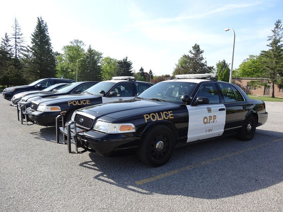 Streifenwagen der Ontario Provincial Police