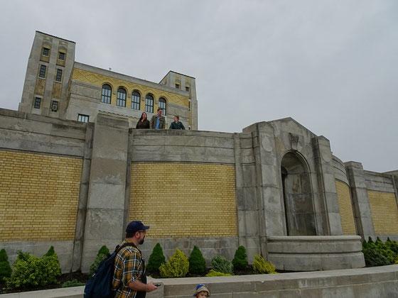 Das R.C. Harris Water Treatment Plant wirkt hier mehr wie eine Festung aus Game of Thrones als eine Kläranlage.