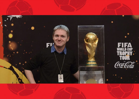 Der Weltmeister-Pokal in Toronto