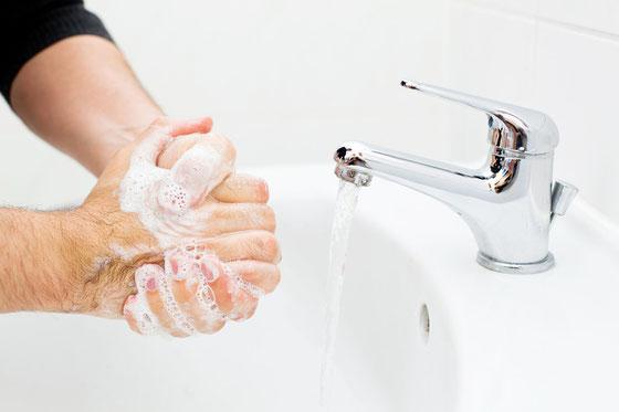 Richtiges Händewaschen !!