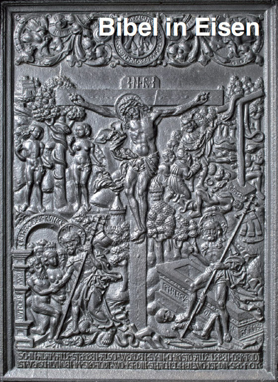 Bild: Bibel in Eisen