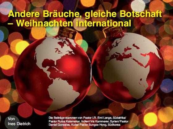 Internationale Weihnachtsessen.Andere Bräuche Gleiche Botschaft Weihnachten International Kim