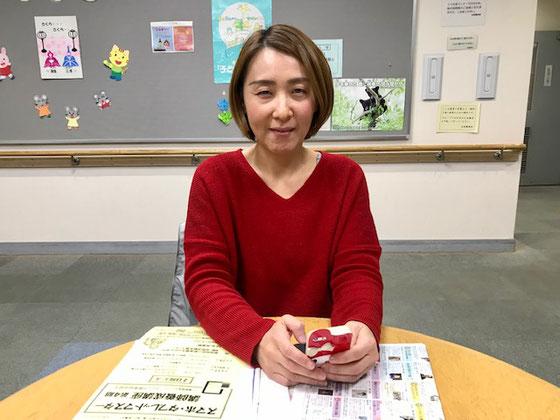 ☆NPO法人 パソコンスクール あっとほーむ 理事長小林美由紀さん。