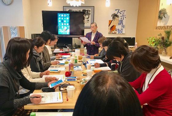 ☆15:00から16:30まで、生田美子さんの「各種設定コース」。