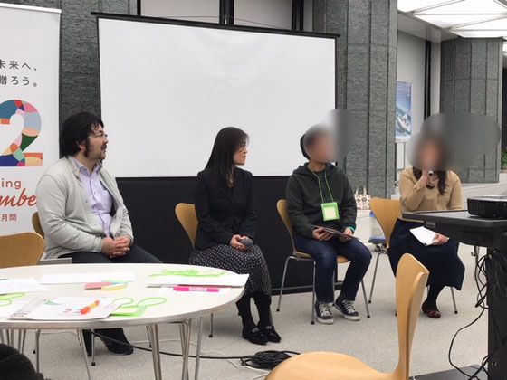 ☆久しぶりにCANPANの山田泰久様(写真左側)と旧知のMさん(女性、右側)にお会いしました。