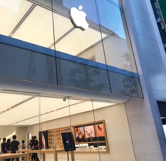 ☆Apple渋谷店入口。