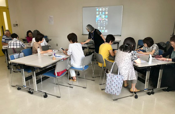 ☆午前の部「アイフォンを、もっと使いこなそう!」(初級)10名様。