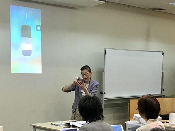 ☆二日目の最初は前回に引続き「設定コース」。生田美子さん。