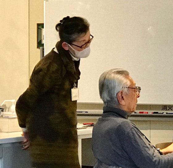 ☆新しくご参加。「文明の利器使いこなせないまま死ねるか!」と発言。さりげなく生田美子さんより沿っています。
