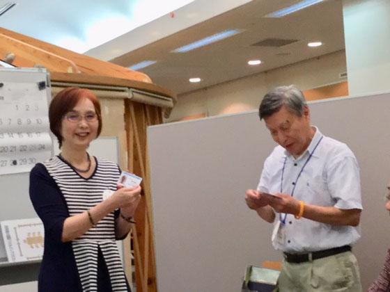 ☆Yumiko Takamuraさん。「町田でミセスアパレルのお店を営むかたわら、カラーセラピーの要素を取り入れたオリジナルペーパーフラワーを作る日々♪♪」Facebookより。