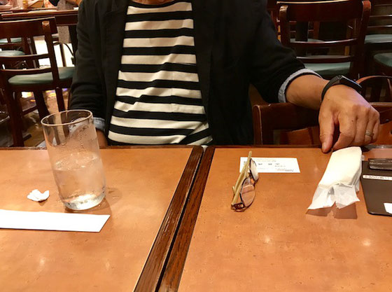 ☆お話は八重洲地下街京橋寄りのKirinのビヤホールでランチ。空いていましたので約1時間50分粘りました。