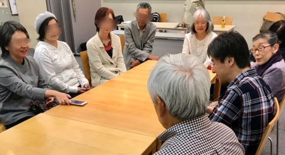 ☆講座が終わって有志でお茶無しお酒無しの懇親会。その後昼食を近くの「日本の台所 庄やグループ」で行いました。話のはずみで新しい親睦と学習グループができました。名前は「山根クラブ」だそうです。交流はLINEで。近々皆様にもお呼びかけがあります。