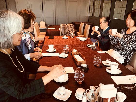 ☆11月4日リニューアルオープンしたホテルオークラ スカイキャロット でお茶を。地上126mから都心の景色を一望!