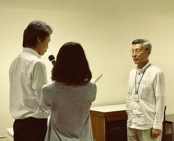 ☆内閣府⇔東京都⇔世田谷区の経路で推薦依頼があり表彰していただきました。世田谷区生活文化部市民活動・生涯現役推進課の課長さんからいただきました。