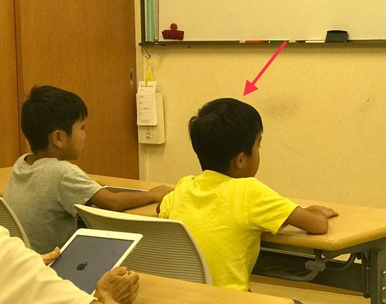 ☆二人は赤堤小学校の1年の同級生。赤い矢印がK.I君。