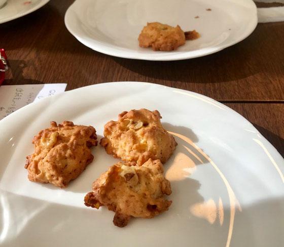 ☆喫茶桜ん房の手製のクッキー。甘すぎず美味しいです。飲み物に合います。