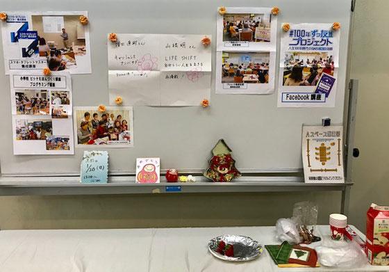 ☆高村由美子さん展示会への出展でイベントの準備はお手の物。とても手慣れておられます。