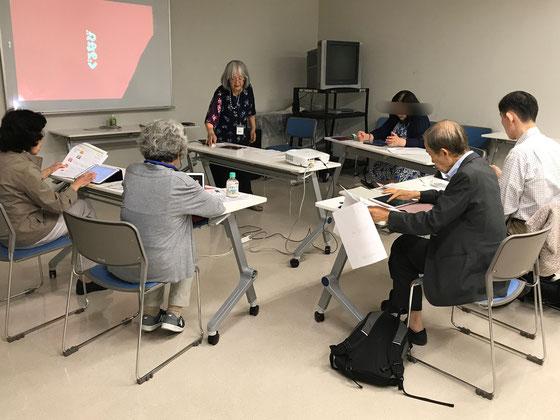 ☆7月30日(土)NHK学園くにたち様の「一歩ステップアップ講座」。1名欠席で5名様。