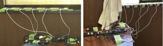 ☆今回も無線LANEの状況は改善されません。かんぽ生命さんのご担当者苦労されました。午前午後各20台のiPadに10台の無線ルーターで対応。目の前が国道246号線、後ろが世田谷警察署の関係ではないか・・・?