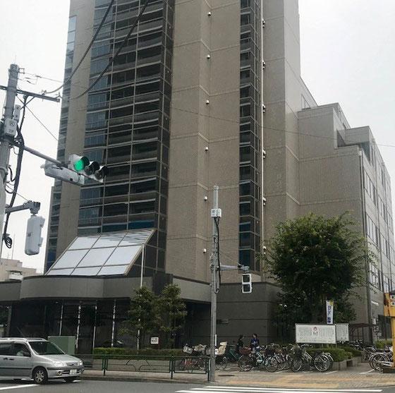 ☆期日前投票会場は小金井市役所第二庁舎6階。