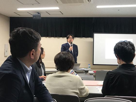☆淑徳大学総合福祉学部結城康博教授の基調講演。