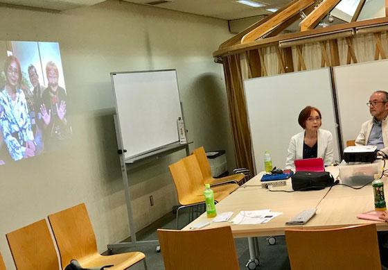 ☆高村会長さんから6月11日に発足した成城学園のすまほ茶屋in一宮庵のご報告。