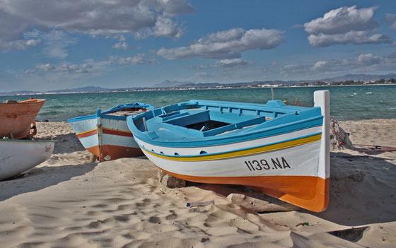 Playa Hanmamet. Túnez
