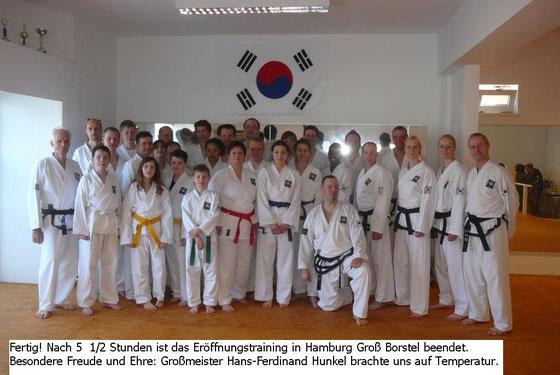 Am 06.04.2013 haben die bereits bestehenden Schulen aus Uetersen und Rellingen die neuen Räumlichkeiten in Hamburg Groß Borstel eingeweiht.