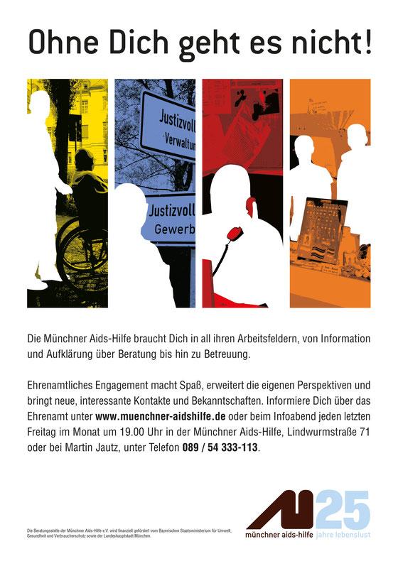 Plakat Ehrenamt