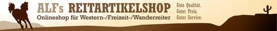 Banner für Alf's Reitartikelshop