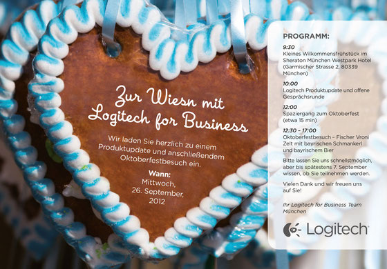 Einladung: Logitech / Typwes